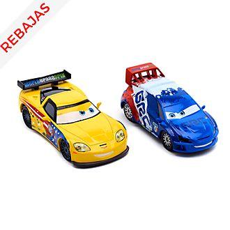 Set vehículos a escala Raoul CaRoule y Jeff Gorvette, Disney Store (2 u.)