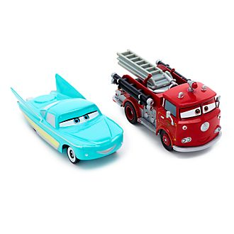 Disney Store Red and Flo Die-Cast Twin Pack