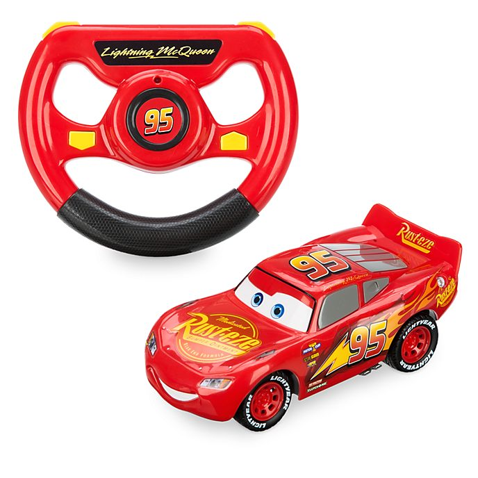 Disney Store Lightning McQueen Remote Control Car, Disney Pixar Cars