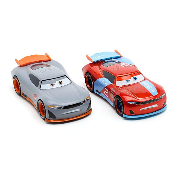 Disney Store Duo de voitures miniatures Ryan ''Inside'' Laney et Rookie Racer #003