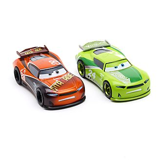 Vehículos a escala Chase Racelott y Tim Tapacubos, Disney Store (2 u.)