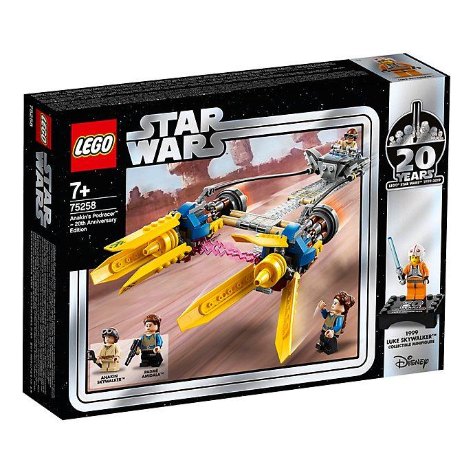 Edición 20.º aniversario vaina de carreras de Anakin, Star Wars, LEGO (set 75258)