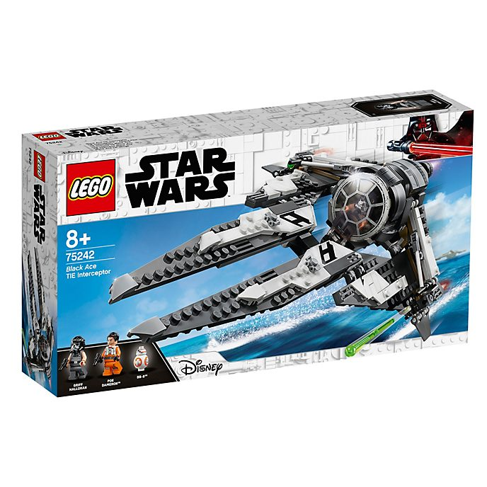 LEGO Star Wars Black Ace TIE Interceptor Set 75242