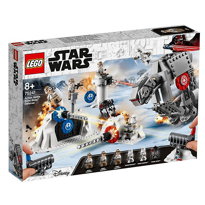 Defensa para batalla Base Eco, Star Wars, LEGO (set 75241)