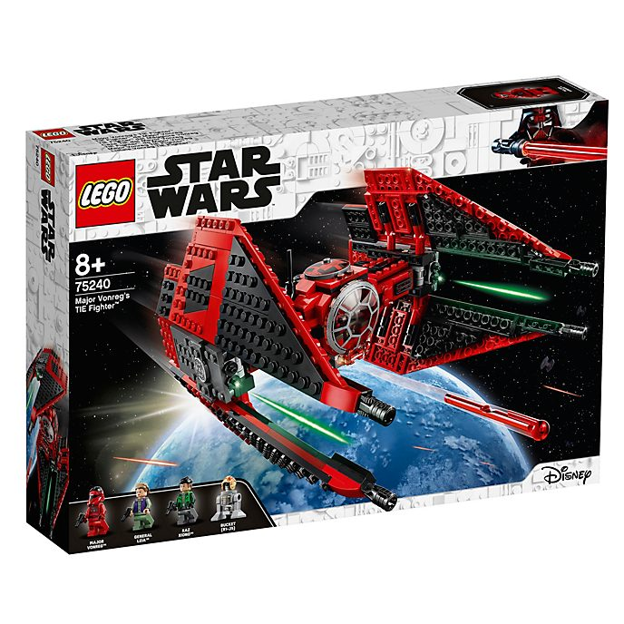 Caza TIE de Mayor, Star Wars, LEGO (set 75240)