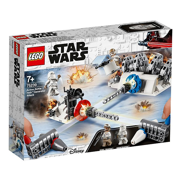 LEGO - Star Wars - Action Battle Hoth Generator Attack Set - 75239