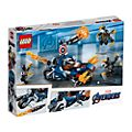 Set LEGO 76123 Captain America: Outriders Attack Avengers: Endgame