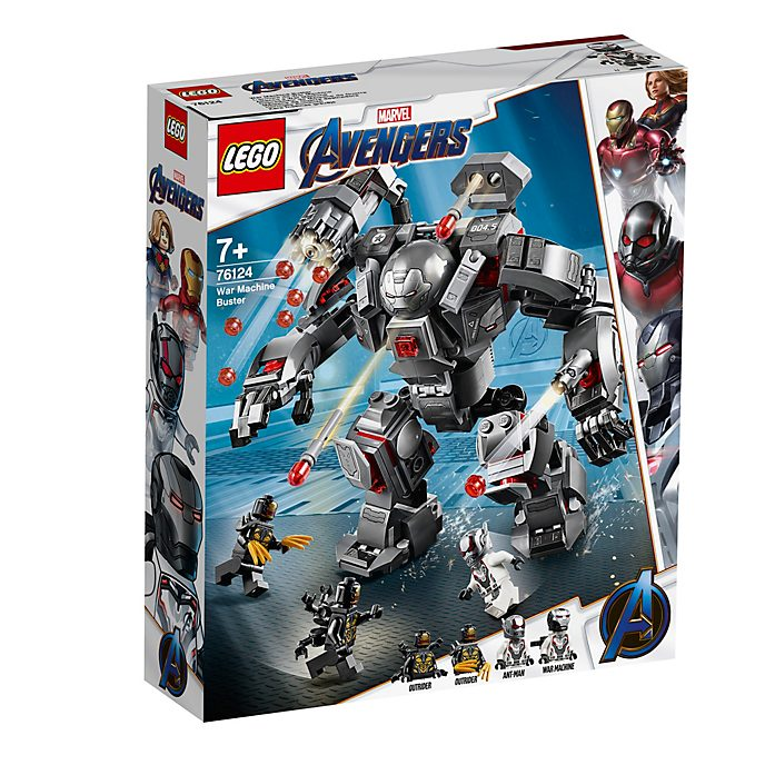 Set LEGO 76124 War Machine Buster Avengers: Endgame