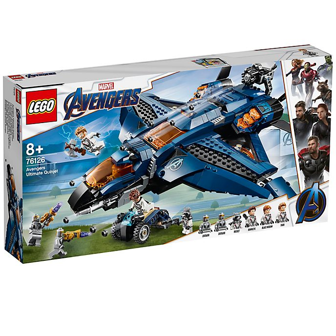 LEGO - Avengers: Endgame - Ultimatives Quinjet Set - Set 76126