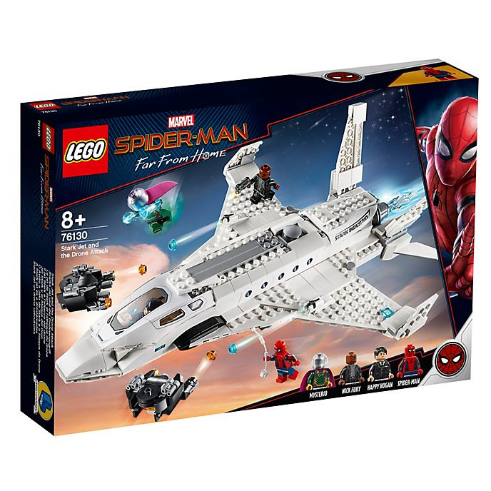 LEGO Set Stark Jet e attacco del drone 76130, Spider-Man: Far From Home