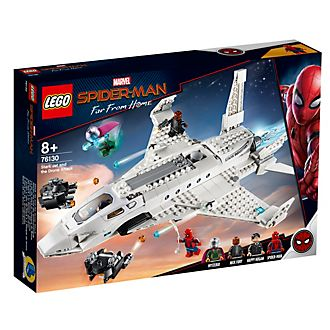 LEGO - Spider-Man: Far From Home - Stark Jet and The Drone Attack - Set 76130