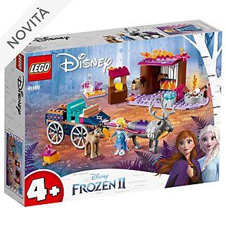 Set 41166 Avventure di Elsa con il vagone, Frozen 2: Il Segreto di Arendelle LEGO