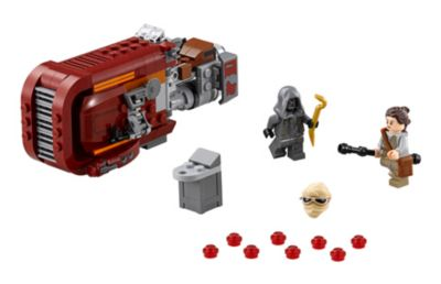 Ensemble LEGO 75099 Speeder de Rey de Star Wars