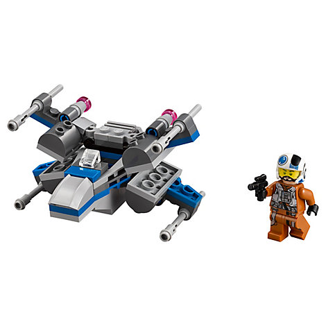 LEGO Star Wars Resistance X-Wing Microfighter Set 75125