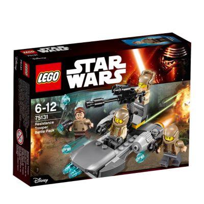 LEGO batalla soldados Resistencia, Star Wars VII: El despertar de la Fuerza (set 75131)