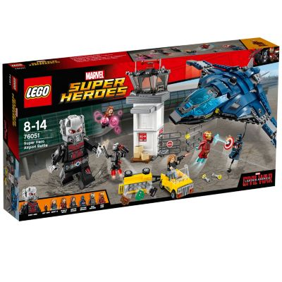 Ensemble LEGO 76051 Super Hero Airport Battle