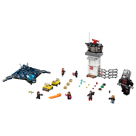 Set LEGO 76051 Supereroi battaglia all'aeroporto