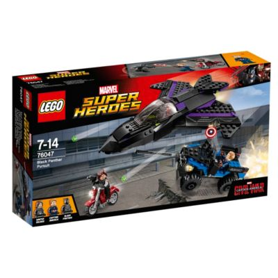 LEGO Black Panther Pursuit Set 76047