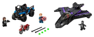 Ensemble LEGO 76047 Black Panther Pursuit