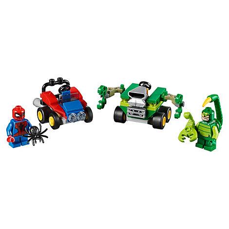 Ensemble LEGO 76071 Mighty Micros: Spider-Man contre Scorpion