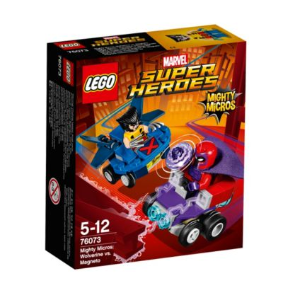 Ensemble LEGO 76073 Mighty Micros : Wolverine contre Magneto