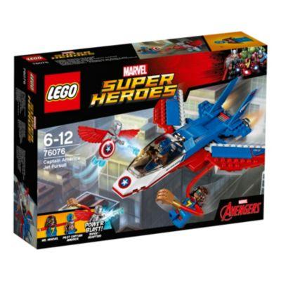 LEGO Avión de combate del Capitán América (set 76076)