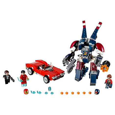 Ensemble LEGO 76077 Iron Man Detroit Steel Strike
