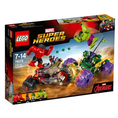 LEGO Hulk vs Red Hulk Set 76078