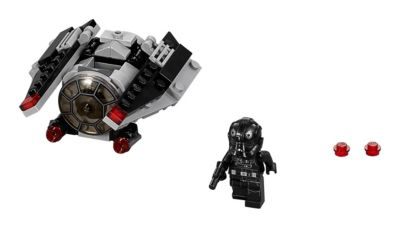 Ensemble LEGO Star Wars 75161 Microvaisseau TIE Striker