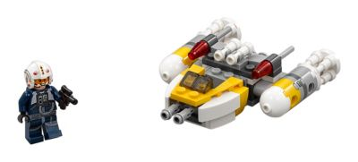Ensemble LEGO Star Wars 75162 Y-Wing Microfighter