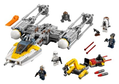 Ensemble LEGO Star Wars75172Y-Wing Starfighter