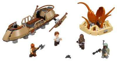 LEGO Star Wars Desert Skiff Escape Set 75174