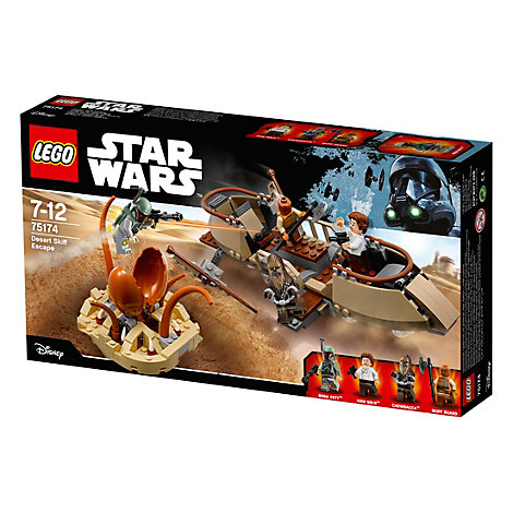 Ensemble LEGO Star Wars 75174 Desert Skiff Escape