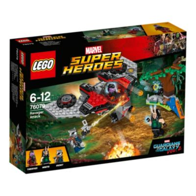 LEGO Guardians of the Galaxy Vol. 2 Ravager Attack Set 76079