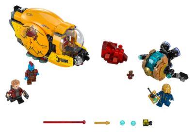Ensemble 76080 La revanche d'Ayesha LEGO Gardiens de la Galaxie Vol. 2