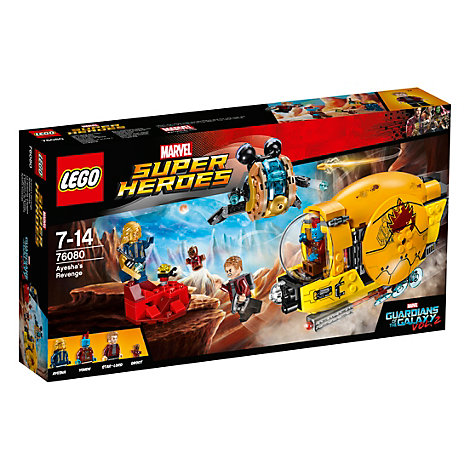 LEGO Guardians of the Galaxy Vol. 2 Ayesha's Revenge Set 76080
