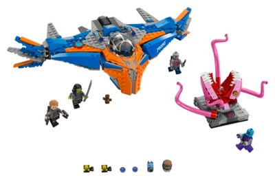 LEGO Guardians of the Galaxy Vol. 2 The Milano vs. The Abilisk Set 76081