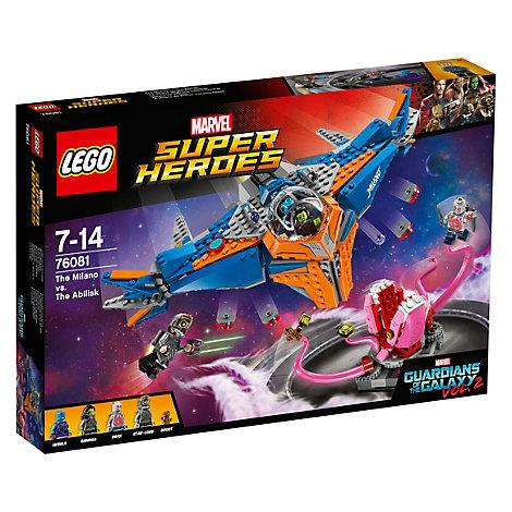 Ensemble 76081 Le Milano conte l'Abilisk LEGO Gardiens de la Galaxie Vol. 2