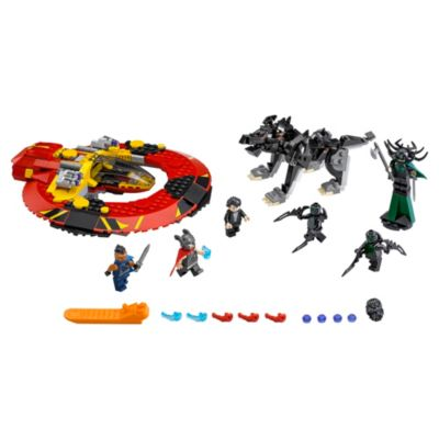 LEGO Avengers Thor: The Ultimate Battle for Asgard Set 76084