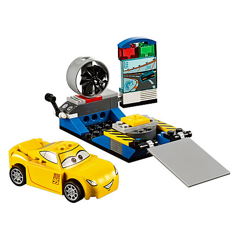 LEGO Juniors Disney Pixar Cars 3 Simulador de carreras de Cruz Ramírez (set 10731)