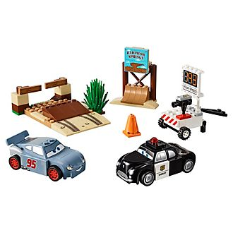 Set LEGO Juniors Disney Pixar Cars 3 10742 Test di velocità a Picco Willy