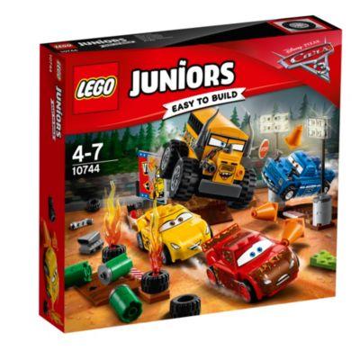 LEGO Juniors Disney Pixar Cars 3 Thunder Hollow Crazy 8 Race Set 10744