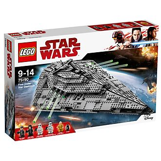 Ensemble LEGO 75190 Star Destroyer du Premier Ordre