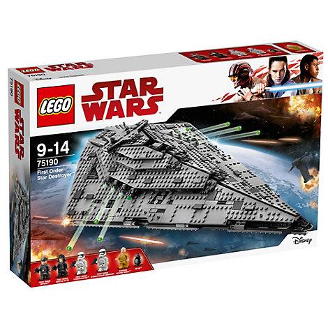 Første Orden Star Destroyer LEGO-sæt 75190