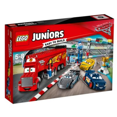 Set LEGO Disney Pixar Cars 3 10745 Corsa finale Florida 500