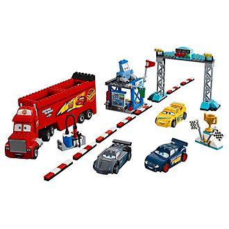 Ensemble LEGO10745 La finale des 500miles de Floride DisneyPixarCars3