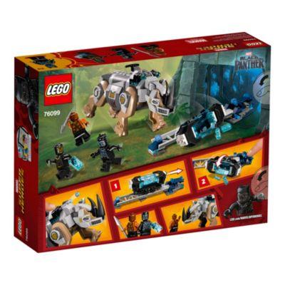 Ensemble LEGO76099Black Panther Rhino Face Off