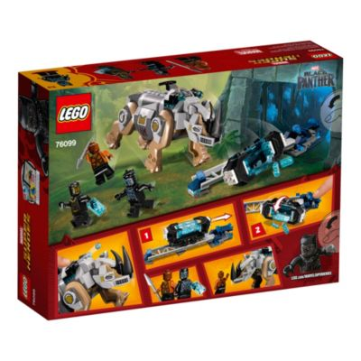 LEGO Black Panther Rhino Face Off Set 76099
