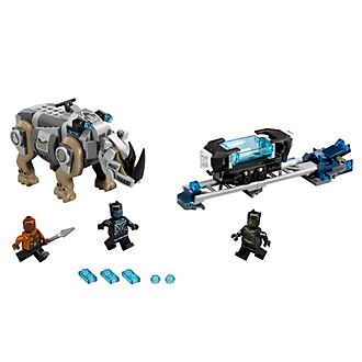 Ensemble LEGO 76099 Black Panther Rhino Face Off