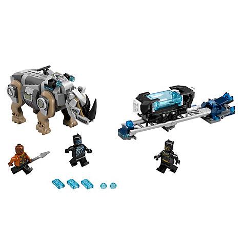 Set LEGO 76099 Scontro rinoceronte Pantera Nera